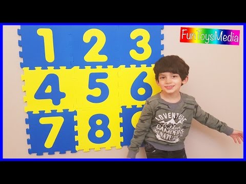 Learn Numbers, Counting and Math Lessons for Children and Toddlers Educational Video