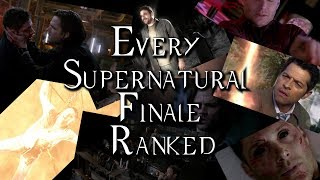 Every Supernatural Finale Ranked (twice)