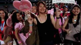WE R THE FANS Part 2- Sydney Kpop Festival 2011 Highlights-Sistar,SNSD,Shinee,MBLAQ,Secret, KARA