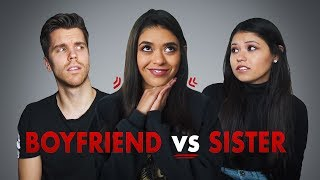 BOYFRIEND VS SISTER l Who knows me better?!  (Mexico vs Germany)