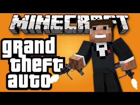 Minecraft: GTA in Minecraft! Guns, Money, Shops, Cars & More! Wasted Server