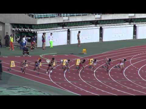 断トツの速さ!!高校男子100m新記録 桐生選手
