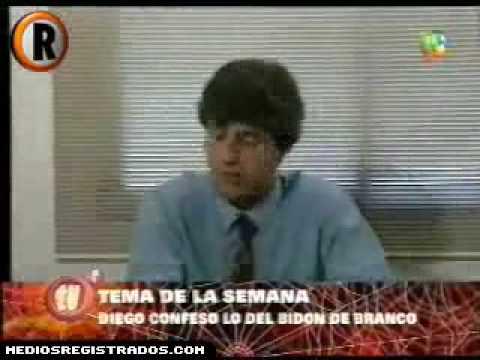 Diego Maradona confeso lo del bidon de Branco