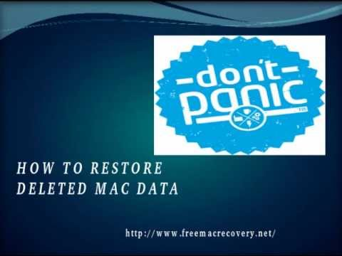 Free Mac Recovery Tool to Undelete Lost Data