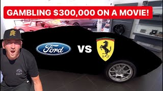 GAMBLING $300,000 ON FORD VS. FERRARI MOVIE ?