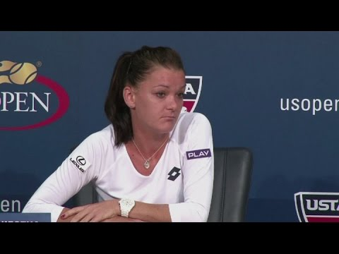 Radwanska hoping to continue good from at US Open [AMBIENT]