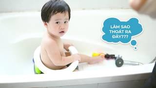Ghế tắm cho bé -  Hướng dẫn tắm an toàn cho trẻ