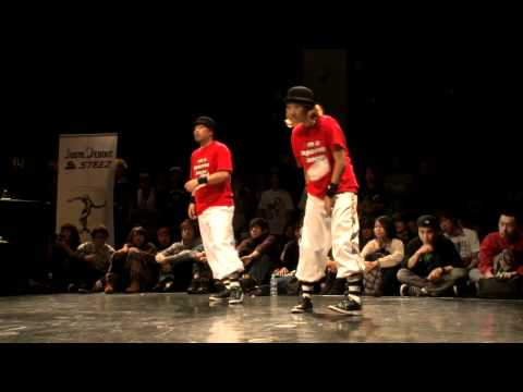 JUSTE DEBOUT 2012 �LOCK SIDE BEST8�NAOSHI&RYO vs ������ ������