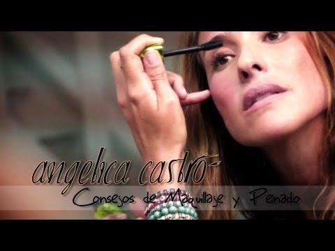 Consejos de Maquillaje y Peinado con Angelica