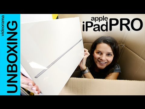Apple iPad Pro unboxing en español