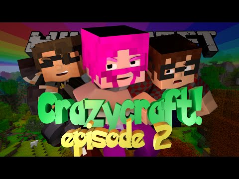 Minecraft CRAZYCRAFT Episode 2!