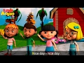 Hello Nice Day Greeting Song With Lyrics Children S Songs Sing Dance With Little Action Kids mp3