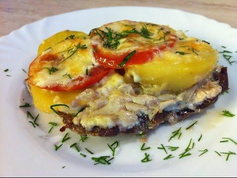 Картошка с мясом с помидорами в духовке рецепт пошагово 129