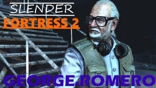 Slender Fortress 2 - George Romero (new boss!)