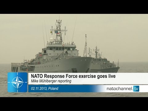 NATO Response Force exercise goes live