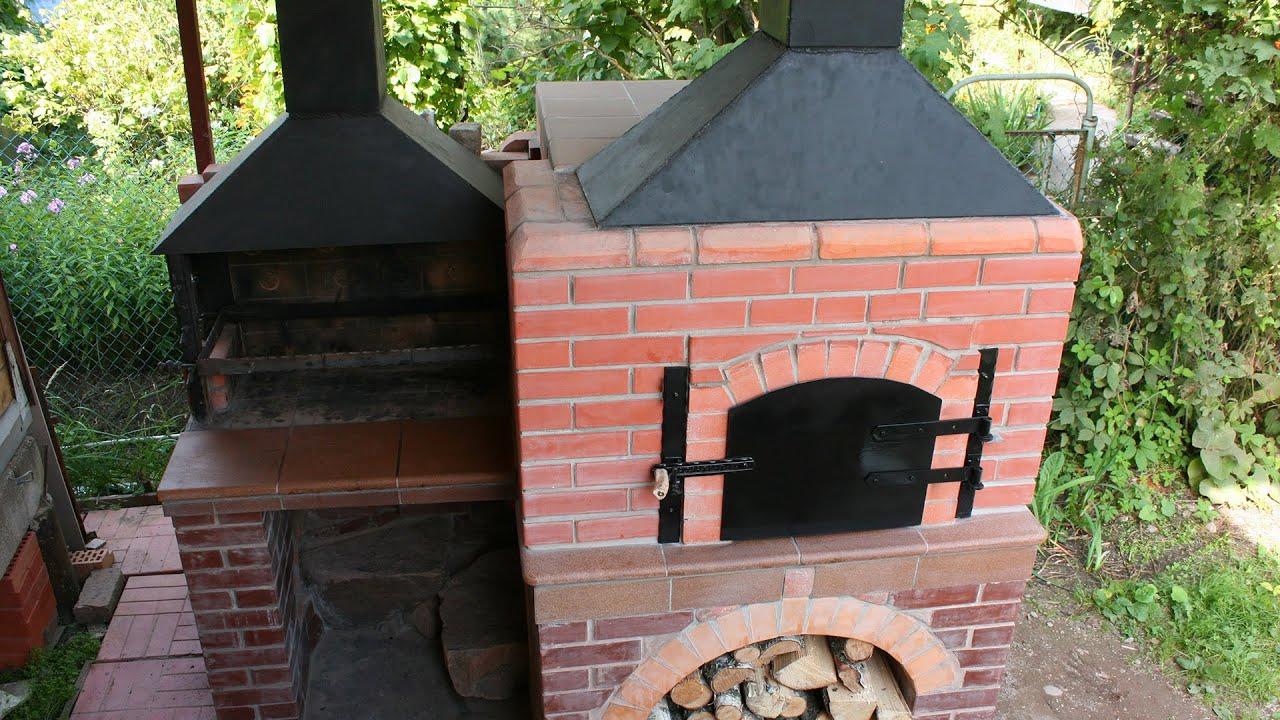 Печка мангал своими руками фото
