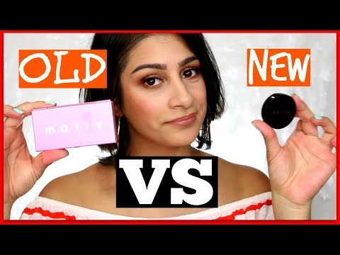 Mally Beauty Effortlessly Airbrushed Blush + Highlight Comparison 2017│OneBeautyAddict
