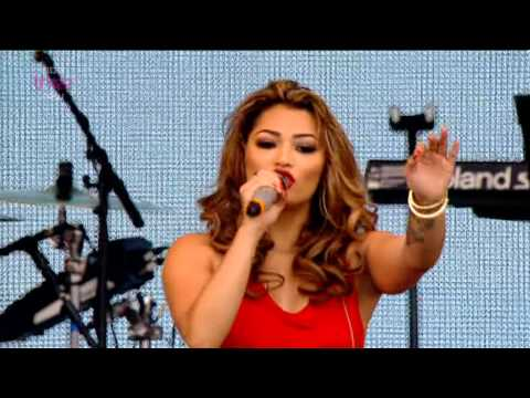 The Saturdays - Higher - BBC Radio 1's Big Weekend 2013 - 25th May 2013