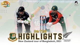 Bangladesh vs New Zealand Highlights || 5th T20i || New Zealand Tour of Bangladesh 2021