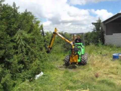 Monomando hidraulico para tractor