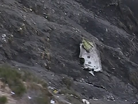 French Rescuers Search for Clues in Plane Crash