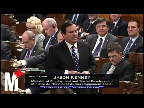 Jason Kenney on employers and his job grant