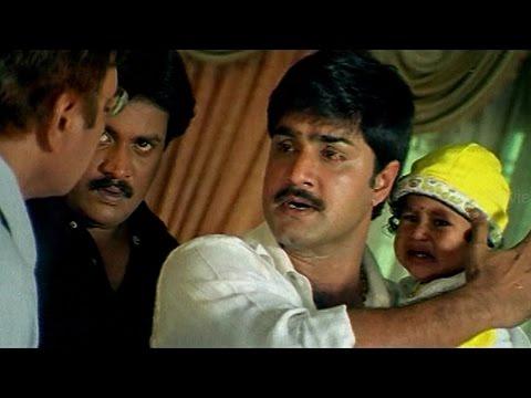 Sarat Babu Action Scene || Evandoi Srivaru Movie || Srikanth,sneha,nikita video