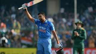 Rohit sharma 150(133) against  south africa 1st ODI 2015 at kanpur