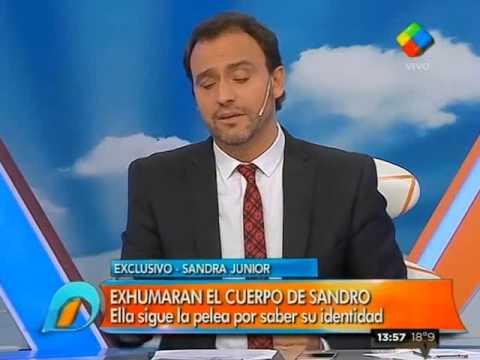 """Sandra Borda: """"Olga (Garaventa) sabe que soy la hija de Sandro"""""""