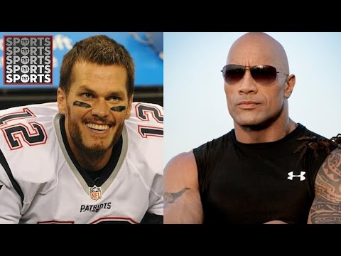 Tom Brady's Impression of The Rock is Cringeworthy