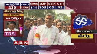 HarishRao Lead With 1-02-000 Votes In Siddipet Assembly Election Results - HarishRao Speaks to Media - netivaarthalu.com