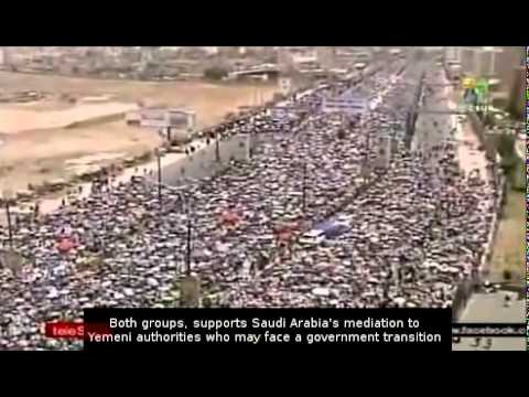 Yemeni protested in capital Sana'a