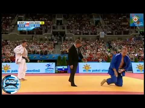 European Judo Championship Budapest 2013 Final -100kg KRPALEK Lukas (CZE) - GROL Henk (NED)