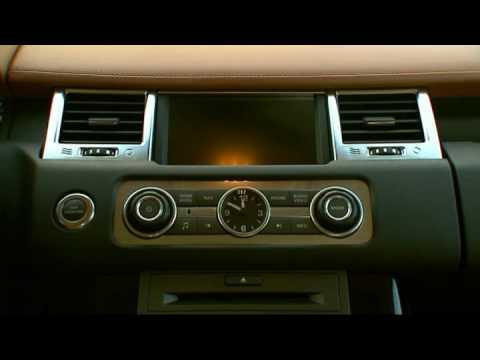 Interior new Range Rover Sport Supercharged 2010