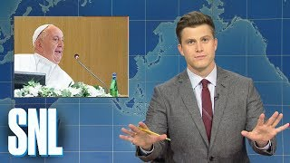 Weekend Update: Catholic Church Debates Celibacy Requirement for Priests - SNL