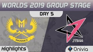 GAM vs JT Highlights Worlds 2019 Main Event Group Stage GAM Esports vs J Team by Onivia