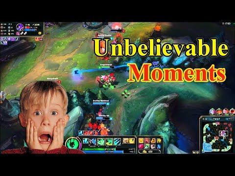 Top 10 Unbelievable Moments League of Legends