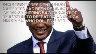 Nullified Kenya presidential election