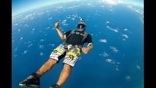 GoPro Extreme Base Jumping & Skydiving Awesome HD