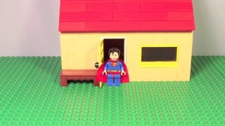 Lego Superman Stop Motion short