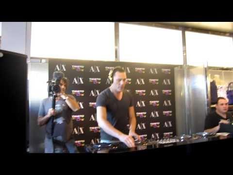 [HD] Tiesto @ Armani Exchange MMW2011, Miami Beach, FL 03/24/2011 1, 2, 3 & 4a Opening