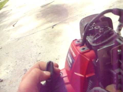 How To adjust the valves in a 4 Cycle Grass Trimmer Weedeater