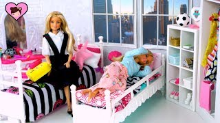 Barbie Dolls School Morning Routine Videos - Back To School Videos for Kids