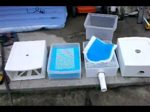 DIY pond filtration system