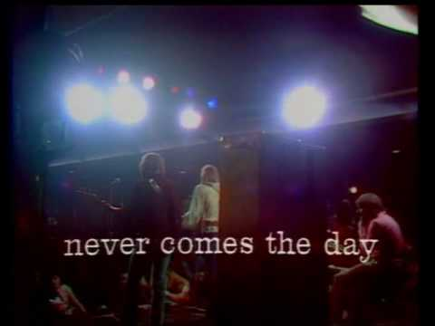 The Moody Blues - Never Comes The Day (Live)