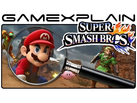 Super Smash Bros. Gameplay Analysis: The Biggest Secrets & Hidden Details (Wii U & 3DS Direct)