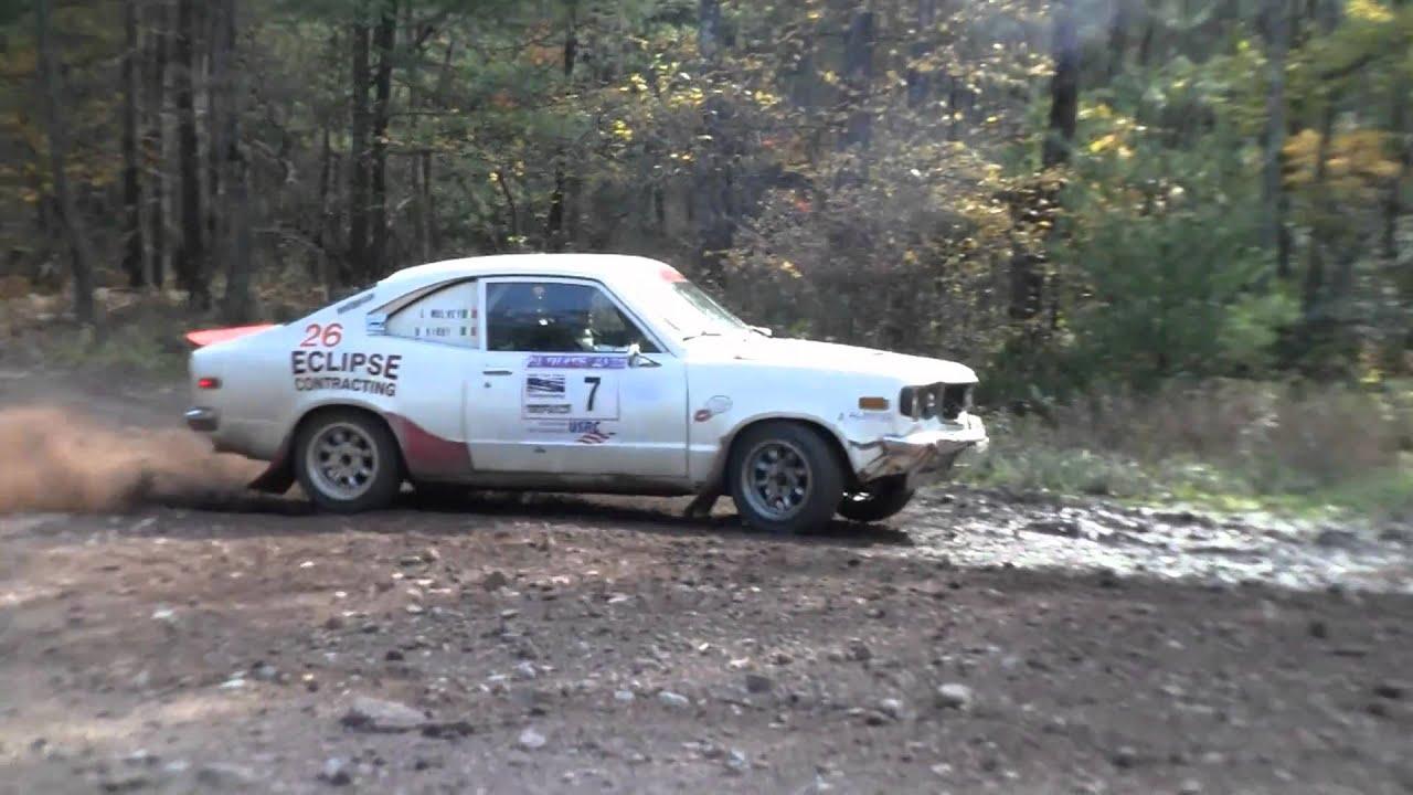 The Mazda Rx3 Rally New York Autumn Rally Sprints 2010
