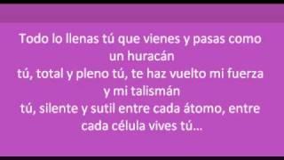 Noelia-Tú  letra