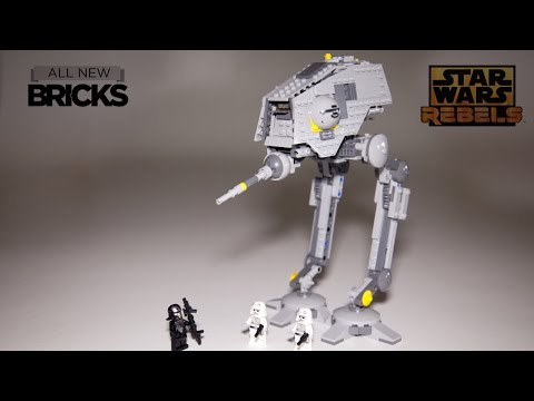 Lego Star Wars Rebels 75083 AT-DP Speed Build Review