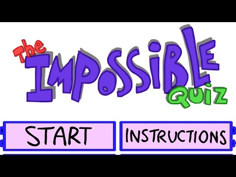 SO MUCH TROLLING! - THE IMPOSSIBLE QUIZ [1]